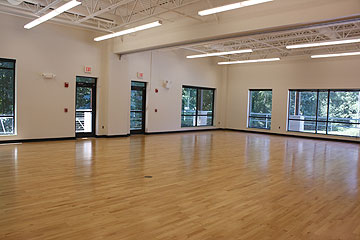 Multipurpose room at the Swim and Fitness Center