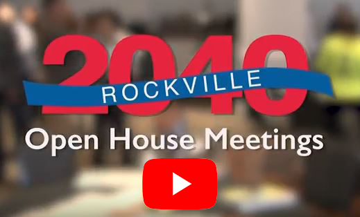 Rockville 2040 Open House Video