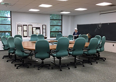 Board Room at the Senior Center