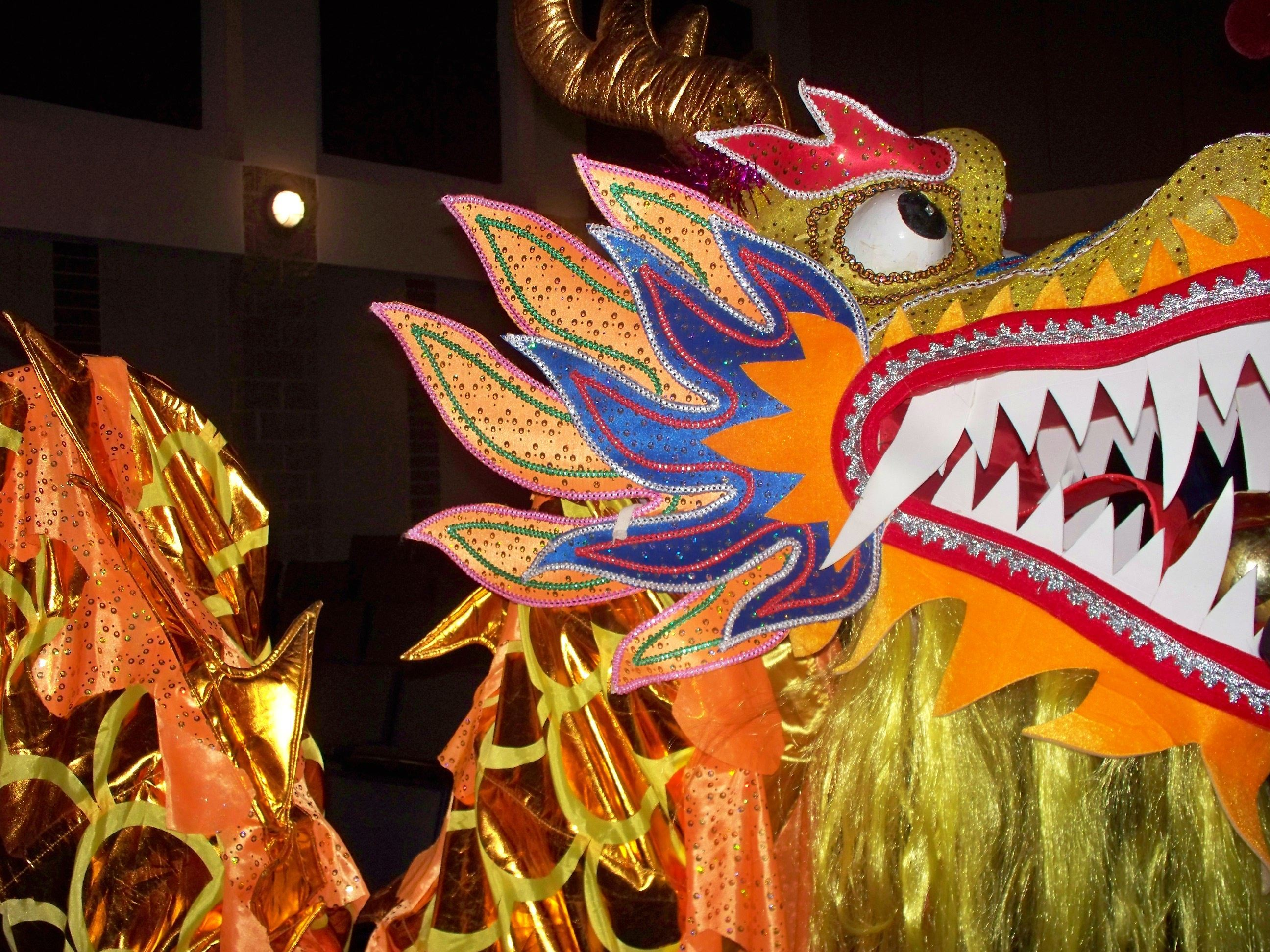 Lunar New Year Dragon