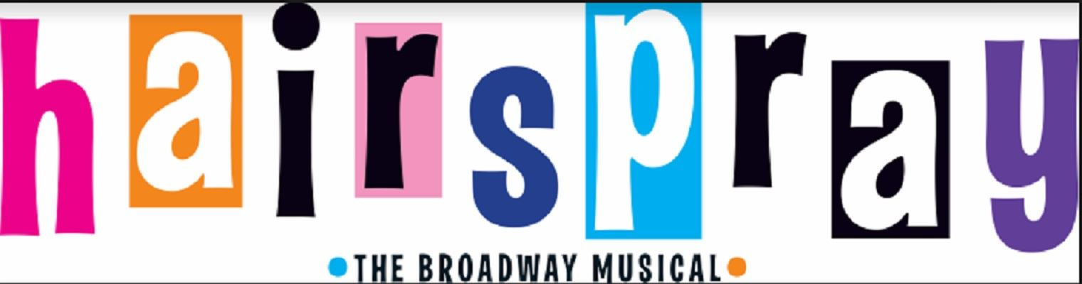 Colorful Hairspray Logo from Original Production