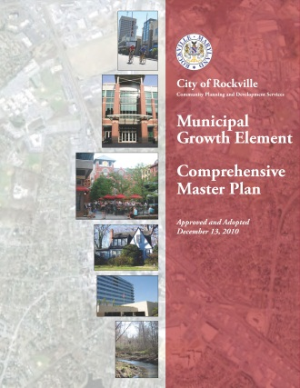 Municipal Growth Element Comprehensive Plan Cover Opens in new window