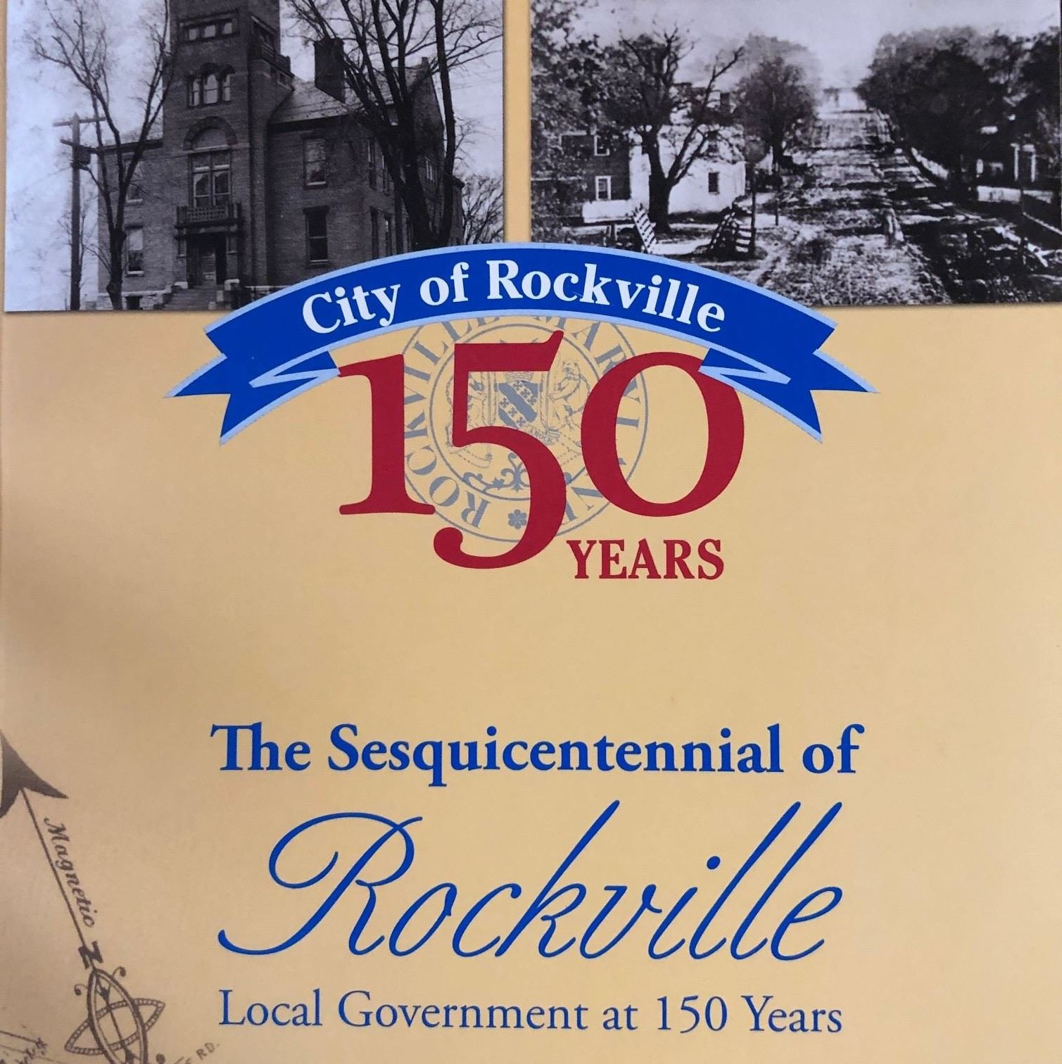 The Sesquincentennial of Rockville Publication Cover