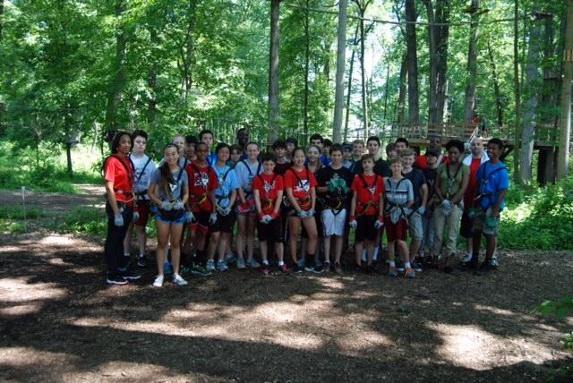 Ropes Course 6-16-14